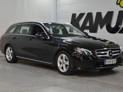 käytetty Mercedes E220 EFarmari (AC) 5ov 1950cm3 A **LED-AJOVALOT,PERUUTUSKAMERA,LOHKOLÄMMITIN**