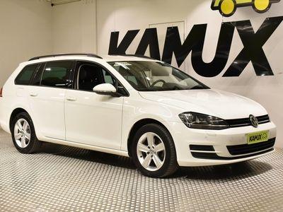 käytetty VW Golf Variant Comfortline 2,0 TDI 150 hv DSG-automaatti / Navi / Juuri katsastettu / Parkkitutkat / Puolin
