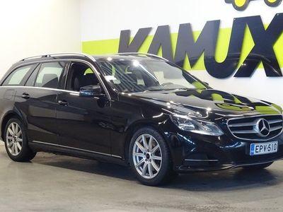 käytetty Mercedes E300 BlueTec T A Avantgarde / ORTOPEDI-ISTUIMET / SÄHKÖTOIMINEN TAKAKONTTI / BLUETOOTH AUDIO