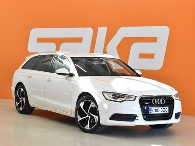 käytetty Audi A6 Avant 3,0 V6 TDI 150 kW quattro S tronic ** Sporttipenkit / Bluetooth / Vetokoukku **