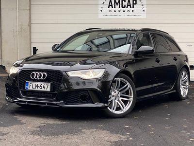 käytetty Audi RS6 Avant 4,0 V8 TFSI quattro A, Bang&Olufsen, Aktiivi Cruise, Head Up, Yönäkö, Carbon ulkonäköpaketti, Panorama, I...
