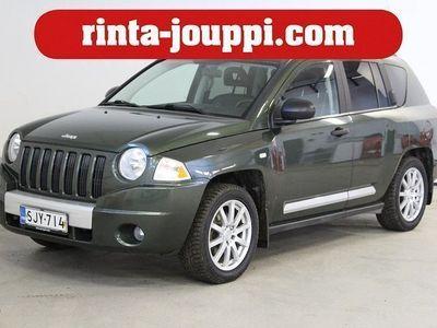 käytetty Jeep Compass 2.4 Limited 5d 4wd - 168hv 4veto - bensiinimoottorilla!