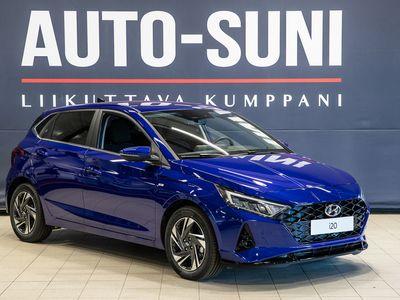 käytetty Hyundai i20 Hatchback 1,0 T 120 hv 48V hybrid Automaatti Style #Navi #Harmaa korostesisusta