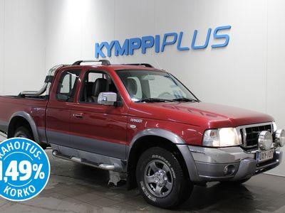 käytetty Ford Ranger Pick-Up Super Cab 2,5TD 4x4 XLT ** Nahkapenkit / Suomi-auto / RAHOITUSKORKO 1.49% **