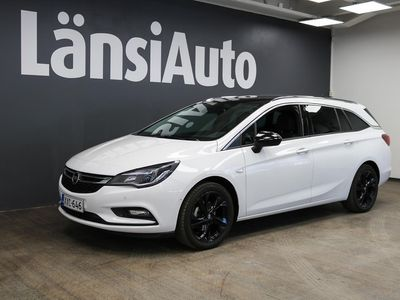 käytetty Opel Astra Sports Tourer Innovation Plus 105 Turbo **Black Edition, Navi, Urheiluistuimet, IntelliLink-Multimedia** **** Min 1500e takuuhyvitys TAI LänsiAuto Safe 0e ****