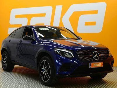 käytetty Mercedes GLC350 e Coupé 4Matic A Premium Business AMG-STYLING ** BLIS / Navi / Sähkökoukku / P. kamera / IHC / S