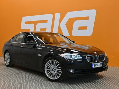 käytetty BMW 525 TwinPower Turbo A xDrive F10 Sedan Business Automatic ** Suomiauto / Sporttipenkit / Webasto / Navi **