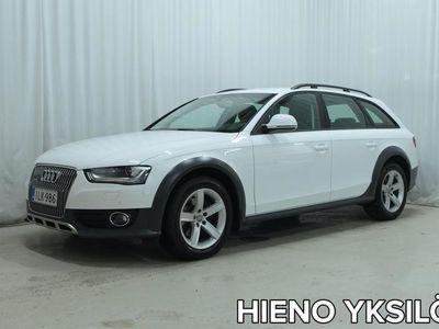 käytetty Audi A4 Allroad QUATTRO Business 2,0 TDI 177 hv quattro S tronic *WEBASTO, TUTKAT, URHEILUISTUIMET YMS. HIENO YKSILÖ!*