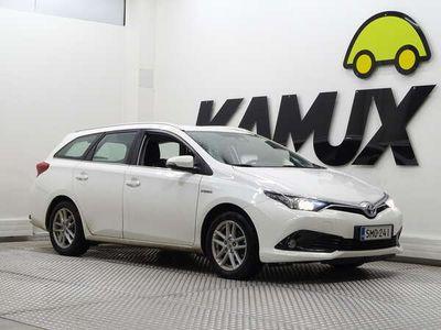 käytetty Toyota Auris Touring Sports 1,8 Hybrid Active / Peruutuskamera / Merkkihuollettu / Kaistavahti /