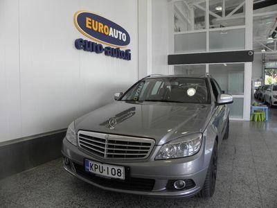 käytetty Mercedes C200 CDI Touring Elegance, NAHAT, CRUISE, KAHDET RENKAAT, LOHKIS, ALUT. ISOFIX, VAIN 145?/KK