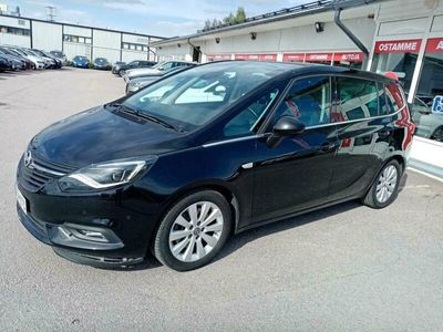 "käytetty Opel Zafira Innovation 2,0 CDTI ECOTEC 125kW AT6 - 4.5 l/100km 7-paikkainen 170 hv ""talousihme"".Iso ""maisema"" tuulilasi.Webasto,xenon,p.kamera,navi. ym herkkua !"