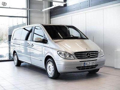 gebraucht Mercedes Viano 3,0 Trend Aut + 7-Paikkainen + Webasto + Tutka + 02-10.3 korko 0,9%* ja kasko 150€**
