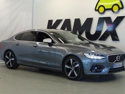 käytetty Volvo S90 D4 AWD R-Design aut * VOC / Koukku / Ad. Vakkari / Kaistavahti / Autopilot /