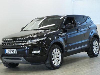 käytetty Land Rover Range Rover evoque 2,2 TD4 Pure A (MY14) - Navigointi, Nahkaverhoilu, Vetokoukku