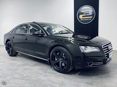 käytetty Audi A8 4,2 V8 TDI DPF QUATTRO TIPTRONIC **ADAPT.VAKKARI, TV, TAKANÄYTÖT, BANG&OLUFSEN, IMUOVET & KORKO 1,85