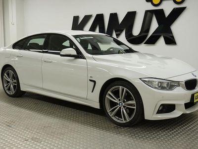 käytetty BMW 420 Gran Coupé F36 420d TwinPower Turbo A xDrive M-Sport **NELIVETO, NAVI, RATTIVAIHTEET,VETOKOUKKU**