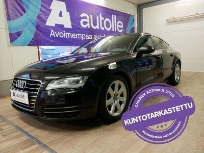 käytetty Audi A7 *KORKOKAMPANJA!* 3,0 V6 TDI 150 Q S tronic Start-S (VM12). Tarkastettuna, Rahoituksella, Kotiin toim
