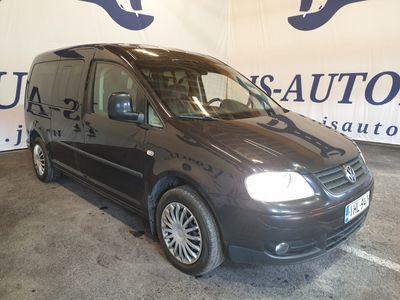 käytetty VW Caddy Maxi Life Comfort 1,9 TDI 77 kW DSG * 7-paikkainen Tilava perheauto * Vaihto ja Rahoitus *