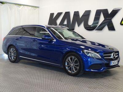 käytetty Mercedes C200 BlueTec T A Premium Business AVANTGARDE **BRILLIANT BLUE METALLIVÄRI, KOUKKU, LED AJOVALOT, NAVI