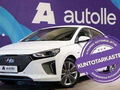 käytetty Hyundai Ioniq *TYYLIKÄS* DCT Style Tarkastettuna, Rahoituksella, Kotiin toimitettuna!