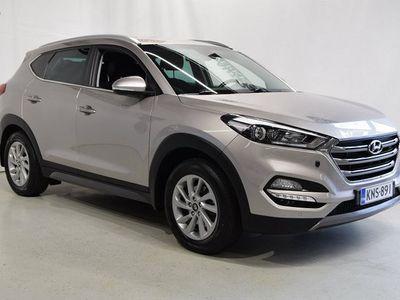 käytetty Hyundai Tucson 4WD 1,6 T-GDI 7DCT Style Navigointi Kaistavahti Yms