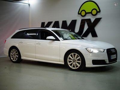käytetty Audi A6 Avant Business Sport 3,0 V6 TDI 160 kW quattro S tronic ** JUURI TULLUT / NÄYTTÄVÄ / NAHKA/ALCANTARA