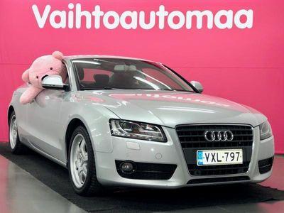 käytetty Audi A5 Coupé 1,8 TFSI 125 kW # Sporttinahkapenkit # BiXenonit # Navi # Tutkat # KÄSIRAHA 0?