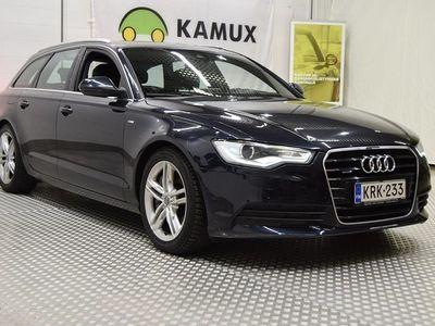 käytetty Audi A6 Avant 3,0 V6 TFSI 220 kW quattro S tronic, S-line, Ilmajousitus, HUD, Keyless, Navi,