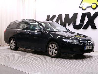 käytetty Honda Accord Tourer 2,0i Sport AT / Juuri katsastettu / Suomi-auto / Lohkolämmitin