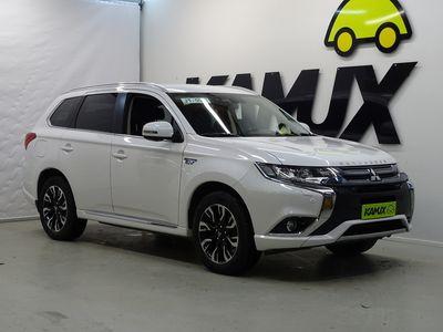 käytetty Mitsubishi Outlander P-HEV Intense Business 4WD 5P / Tulossa myyntiin / Nahkapenkit / Adapt. vakkari / BLIS /