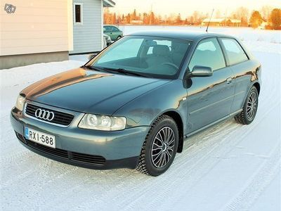 käytetty Audi A3 1.6 Bensa AAC JUURI KATS.