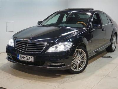 käytetty Mercedes S350 CDI BE 4Matic HUIPPUVARUSTEET,KATSO!! Rahoitus jopa ilman käsirahaa!