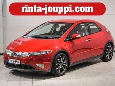 käytetty Honda Civic 1.8 Sport 5d - Huippu vähän ajettu ja erinomaisessa kunnossa oleva huollettu Civic!