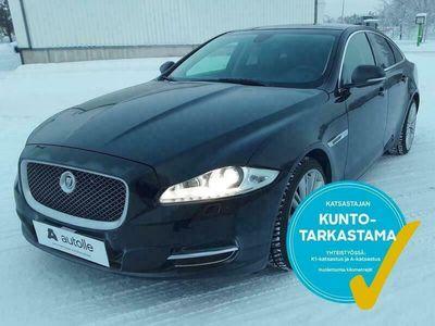 käytetty Jaguar XJ *NÄYTTÄVÄ* Premium Luxury 3.0 V6 Diesel. Tarkastettuna, Rahoituksella, Kotiin toimitettuna!