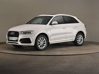 käytetty Audi Q3 Land of Q Edt 2,0 TDI cleanD 110 A- Webasto, Koukku, Nahat, Panoraama-