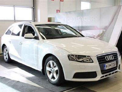 käytetty Audi A4 Avant 1,8 TFSI 120hv multitronic Pro Businesss Plus, SIISTIKUNTOINEN SUOMI-AUTO!