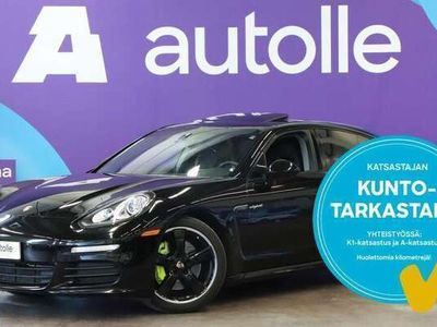 käytetty Porsche Panamera KOTIINTOIMITUS S E-Hybrid. Tarkastettuna, Rahoituksella, Kotiin toimitettuna