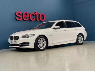 käytetty BMW 520 5-sarja F11 Touring d TP A Business A, Nahkaverhoilu, Moottorin- ja Sisätilanlämmitin, Tutkat Edessä ja Takana