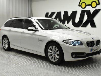 käytetty BMW 518 518 F11 Touring d A Business Exclusive Edition / HELMIÄISVÄRI / VAKKARI / SÄHKÖKONTTI / BT AUDIO /