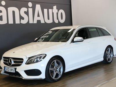 """käytetty Mercedes C180 T A Edition AMG """"ILS, Kaukovaloavustin, Easy Pack"""" **** LänsiAuto Safe -sopimus hintaan 590€. ****"""