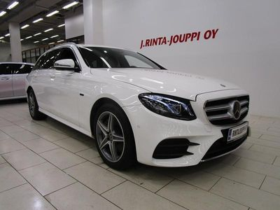 käytetty Mercedes E300 T A Business AMG Line EQ Power *Burmester*Muistipenkit*Widescreen*
