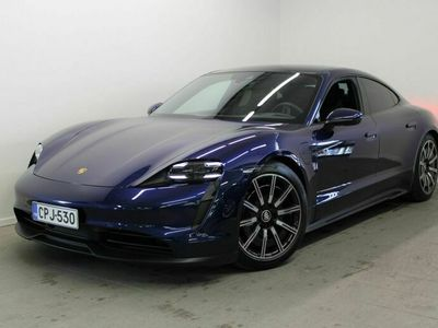käytetty Porsche Taycan 4S 420 kW Performance Battery Plus, 14-Istuimet, ACC, Surround View, Panorama