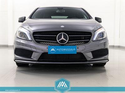 käytetty Mercedes A200 CDI 4Matic AMG Sport Night Pack *Keyless, Sadetunnistin, Kokonahka sportti-istuimet, Navi, Parkkitut...