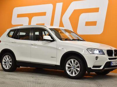 käytetty BMW X3 F25 xDrive20d TwinPower Turbo ** Sport-penkit / Sähkökontti / Suomi-Auto / Xenonit / Siistikuntoinen