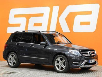 käytetty Mercedes GLK220 CDI BE 4Matic A AMG-STYLING ** JUURI SAAPUNUT / ILS-Ajovalot / Nahka-Alcantara / Sähköluukku / V