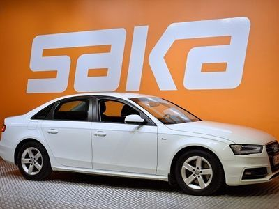 käytetty Audi A4 Sedan Business 2,0 TDI 110 kW multitronic ### NORMAL FRIDAY -hinta! ### ** 1-Omistaja / Suomi-auto /
