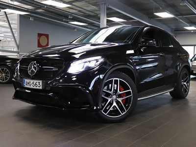 käytetty Mercedes GLE63 AMG AMG S Coupé 4Matic Bang & Olufsen, Active Cruise, Driving Package, Panorama, Webasto, Hieronta