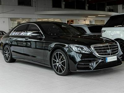käytetty Mercedes S560 L AMG Line, Distronic, Hieronta, Head Up, Panorama