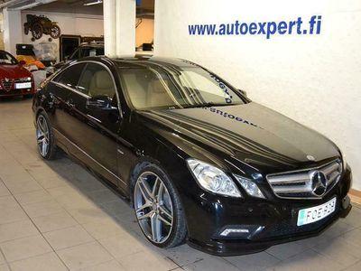 käytetty Mercedes E220 CDI BE Coupé AMG A. Korkotarjous 1.5% !! juuri katsastettu!!