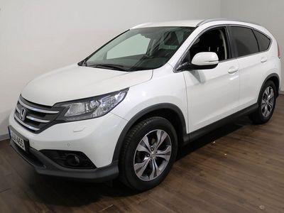 käytetty Honda CR-V 2,0 Lifestyle Business 4WD **Vain 59 tkm., Nahka/Alcantara sisustus, Kaksois -Xenon ym** **** Korko